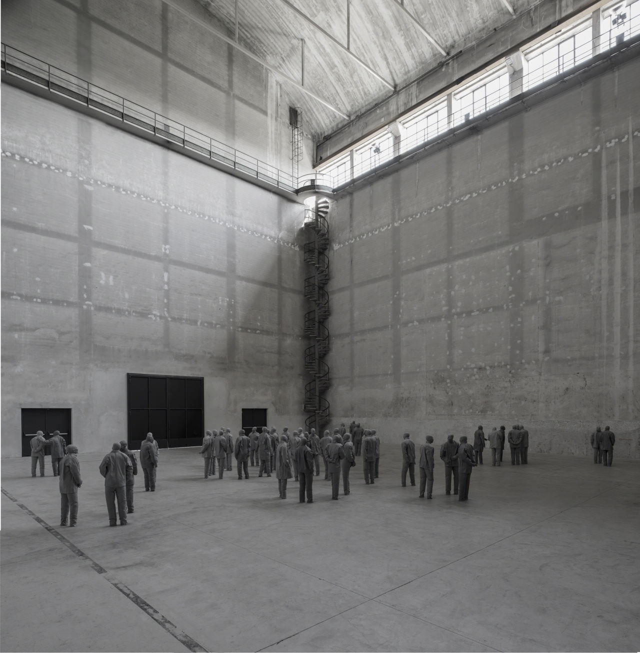 Installation view HangarBicocca, Milan, 2015. Photo: Attilio Maranzano