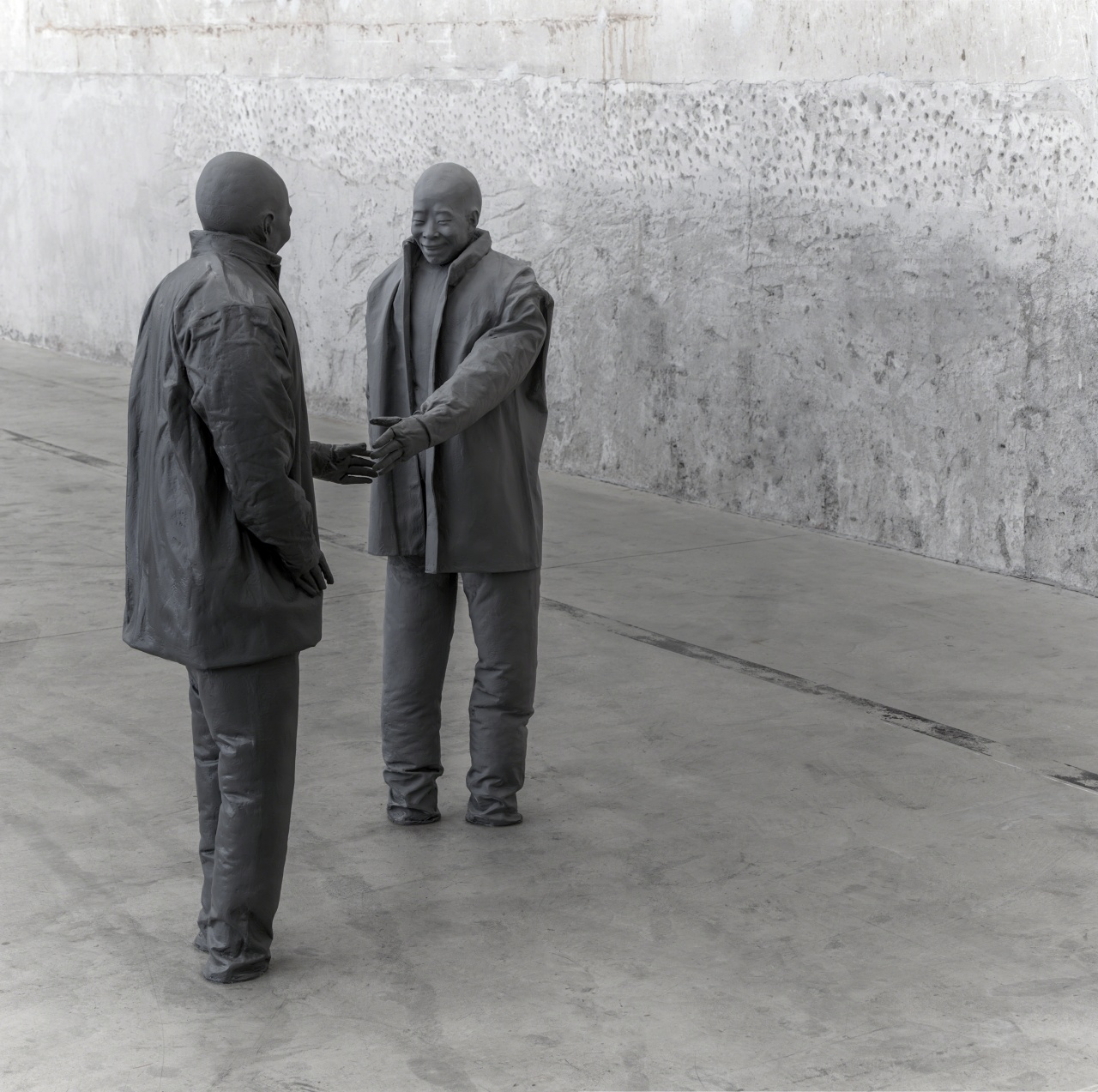 Installation view HangarBicocca, Milan, 2015. Photo Attilio Maranzano