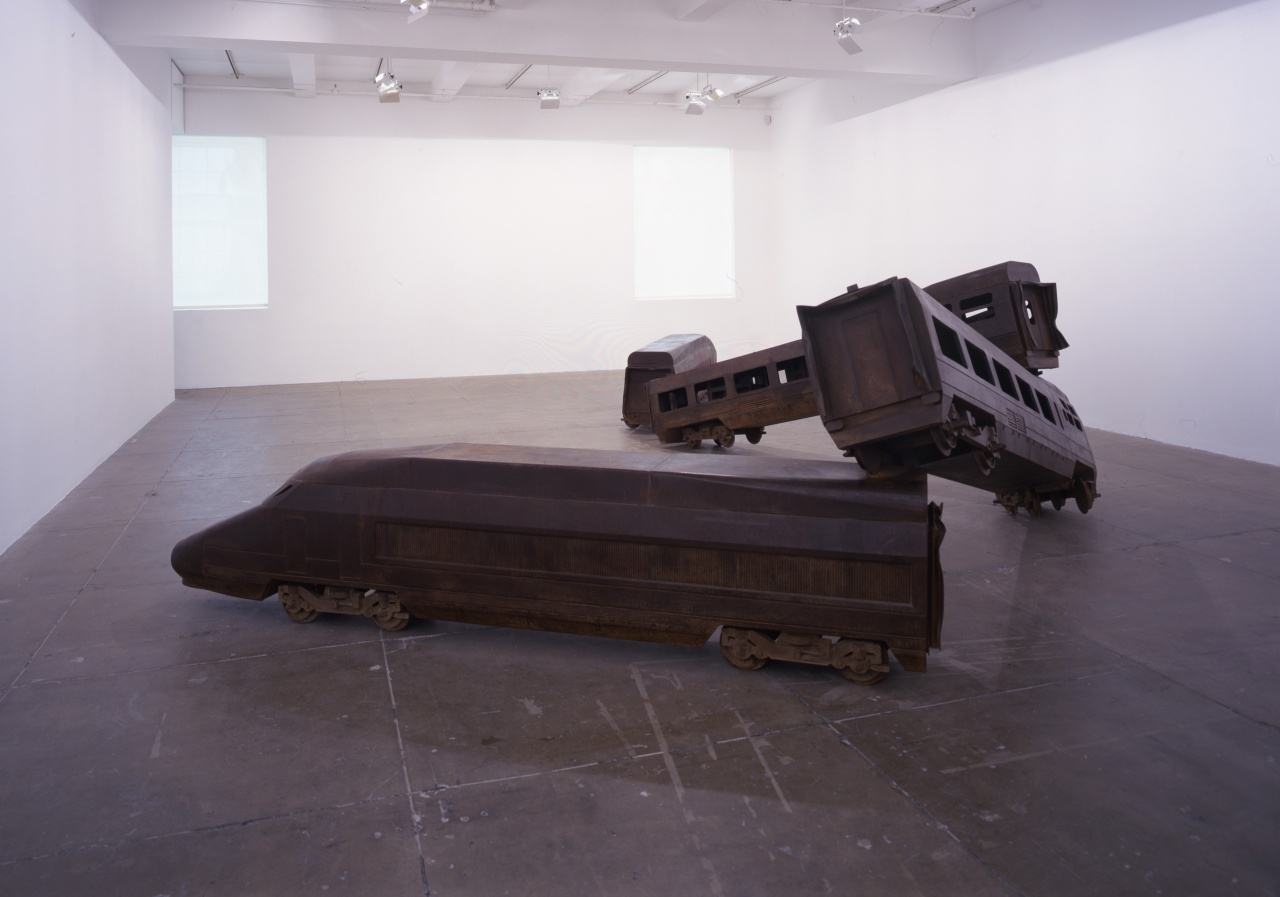 Installation view Marian Goodman Gallery, New York, 2006. Photo Cathy Carver