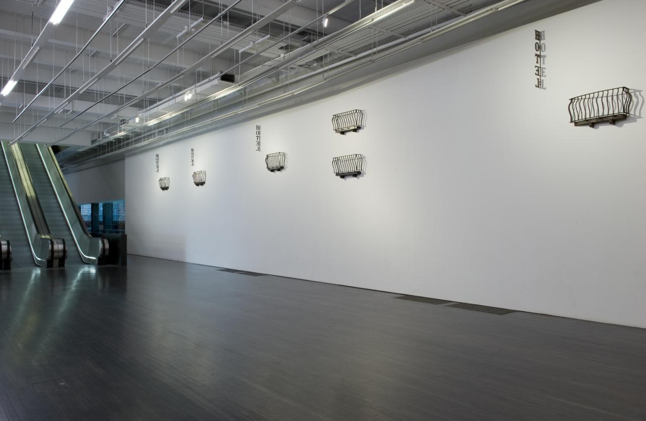 Installation views, exhibition Tate Modern, London, 2008.