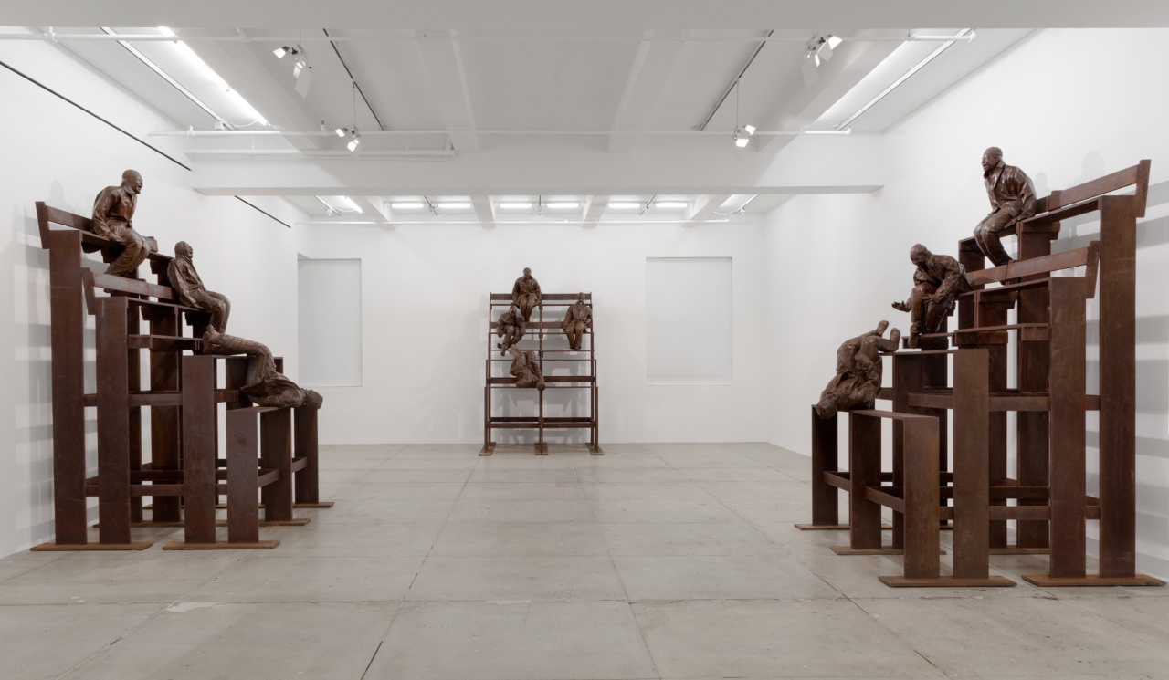 Installation view at Marian Goodman Gallery, New York, 2015. Courtesy Marian Goodman Gallery. Photo by Cathy Carver
